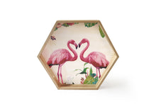 Flamingo Trays, Set of 3