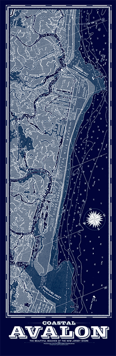 Avalon Nautical Chart