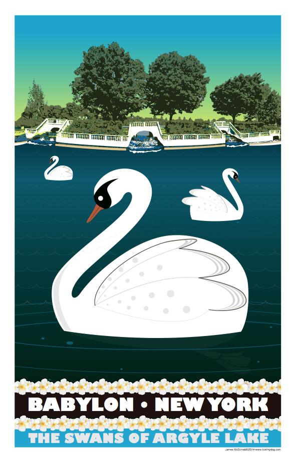Swans of Argyle Lake