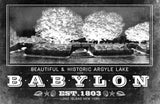 Argyle Lake, Babylon Vintage Photograph