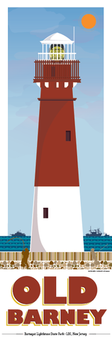Barnegat Lighthouse Illustration