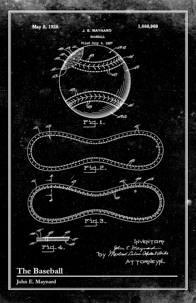 The Baseball-Patent Invention Art