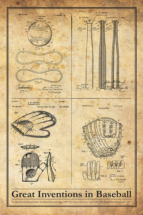 Baseball Inventions-Patent Invention Art