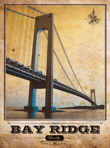 Verrazano Bridge - Bay Ridge Vintage
