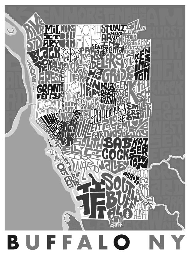 Buffalo, New YorkType Map