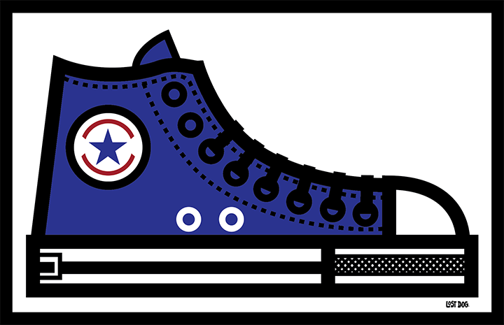 Converse All Stars Thick Lines