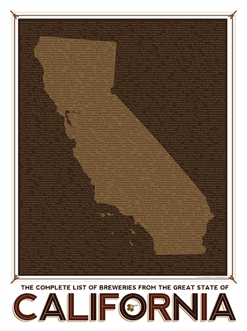 California State Breweries Chart