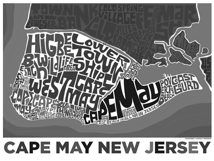 Cape May Type Map