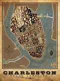 Charleston, South Carolina Type Map