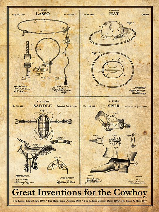 Cowboy Inventions-Patent Art