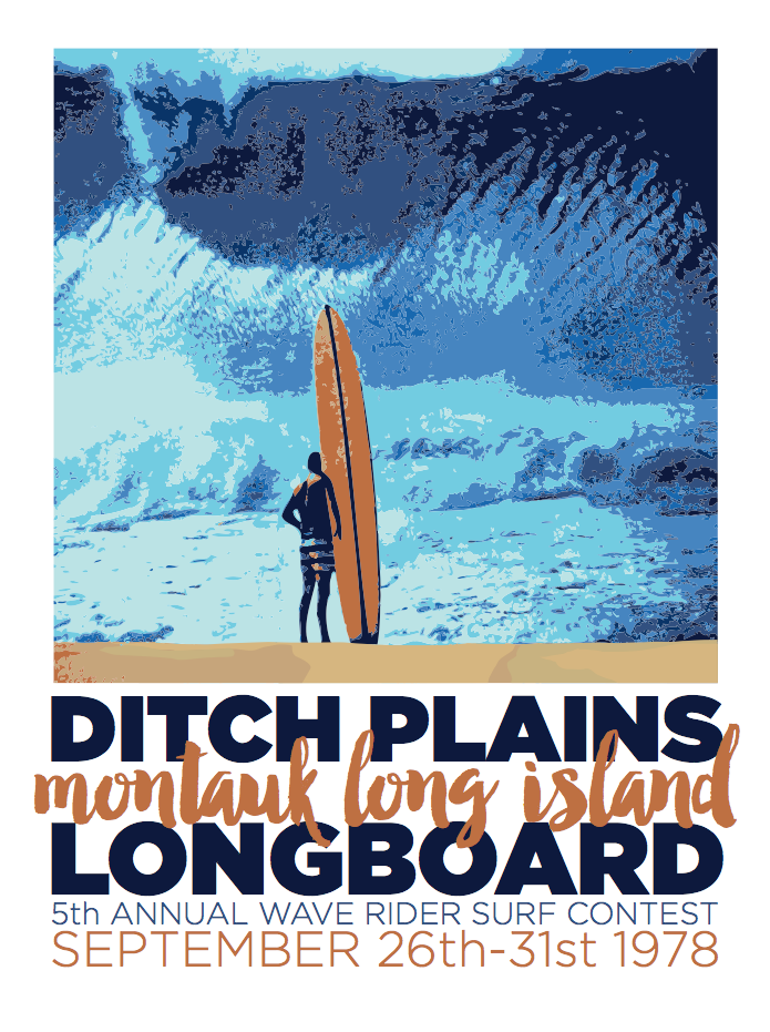 Ditch Plains Big Wave Surf Contest