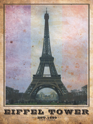 Eiffel Tower Vintage