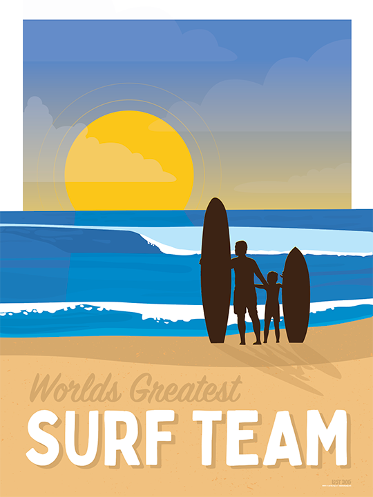 Father Son Surf Team
