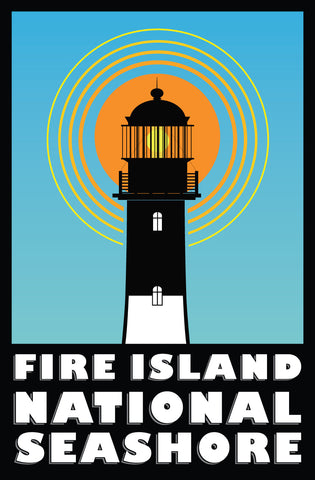 Fire Island Lighthouse Poster: National Park Series