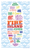 Fire Island Beaches Surfboard Shape