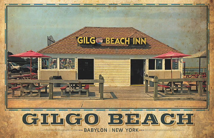 Gilgo Beach Inn Vintage Photograph