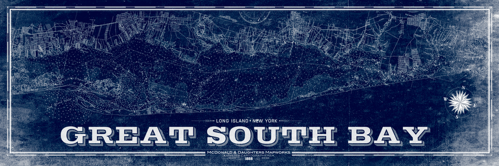 Great South Bay Nautical Chart