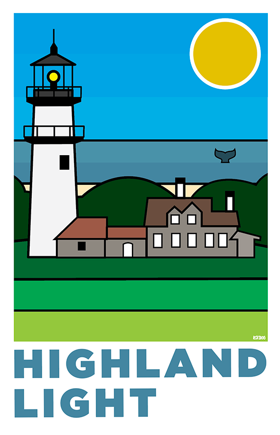 Highland Light, Cape Cod: Thick Line Series