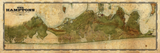 Hamptons Vintage Remixed Map