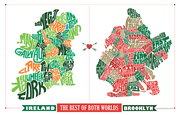 Best of Both Worlds: Ireland & Brooklyn