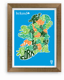 Ireland County Map