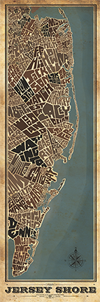 Jersey Shore FULL Type Map
