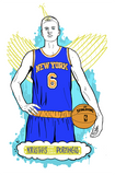 Kristaps Porzingis Illustration