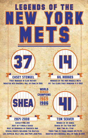 New York Mets- Retired numbers
