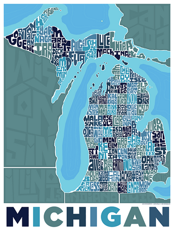Michigan Neighborhood Type Map