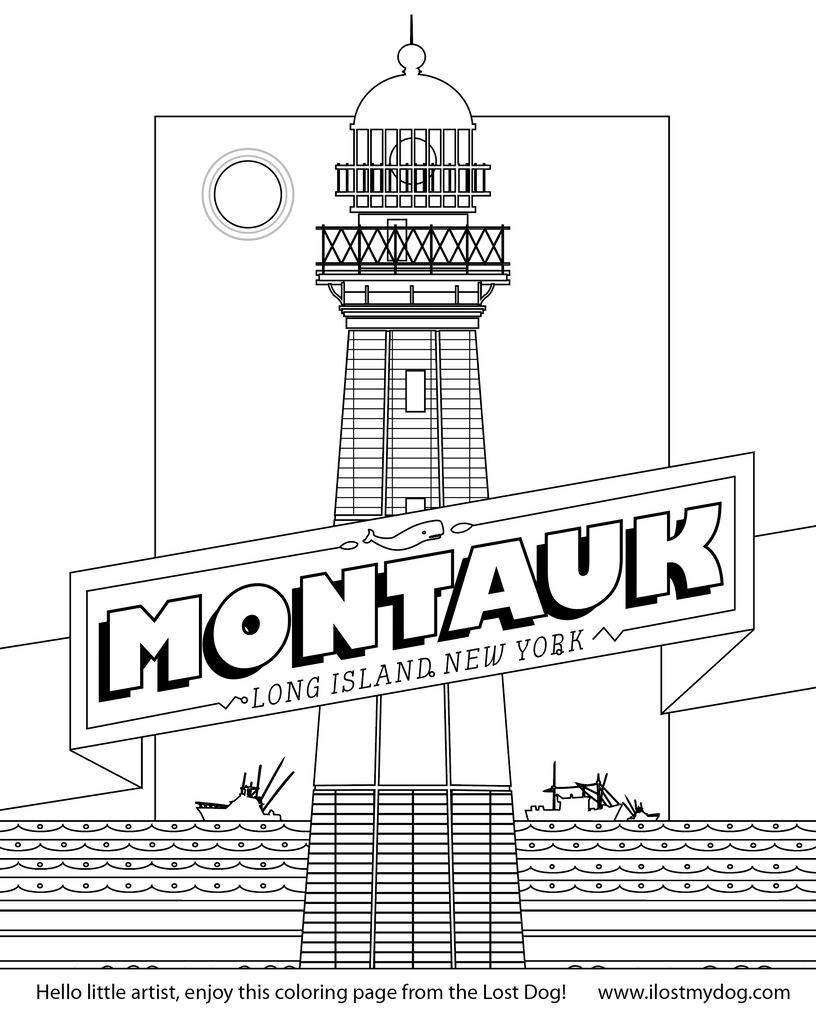 Coloring Pages: Long Island