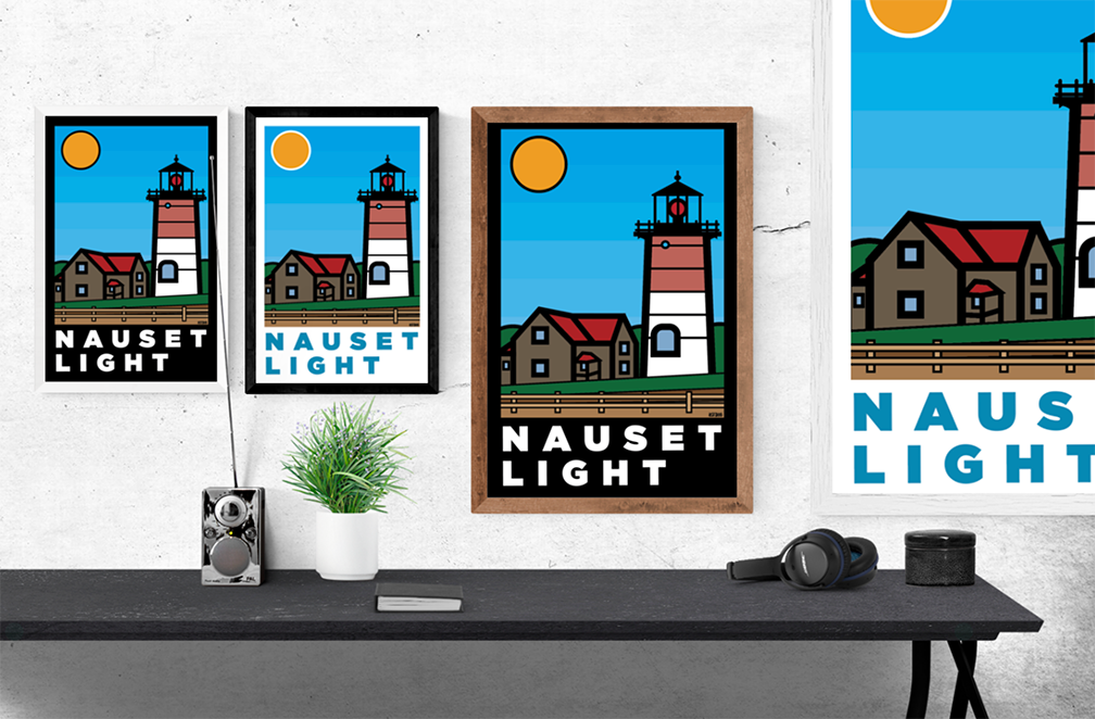 Nauset Light: Thick Line Series