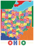 Ohio Counties Type Map
