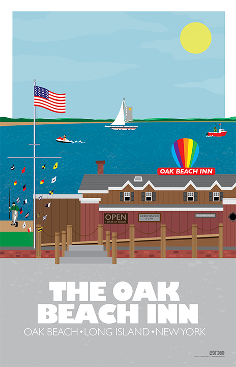 Oak Beach Inn Illustration