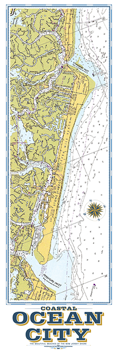 Ocean City Nautical Chart