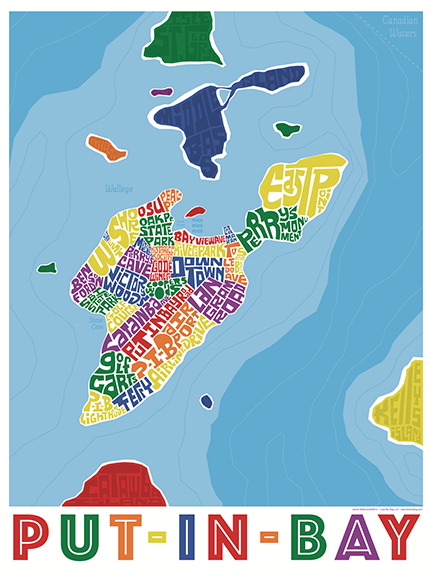 Put-In-Bay Type Map