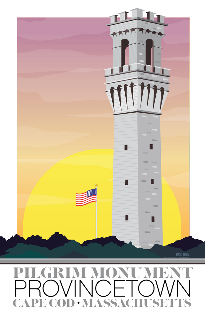Provincetown Cape Cod Illustration