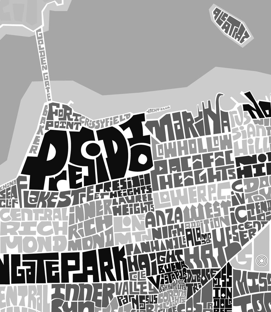 San Francisco Neighborhood Type Map