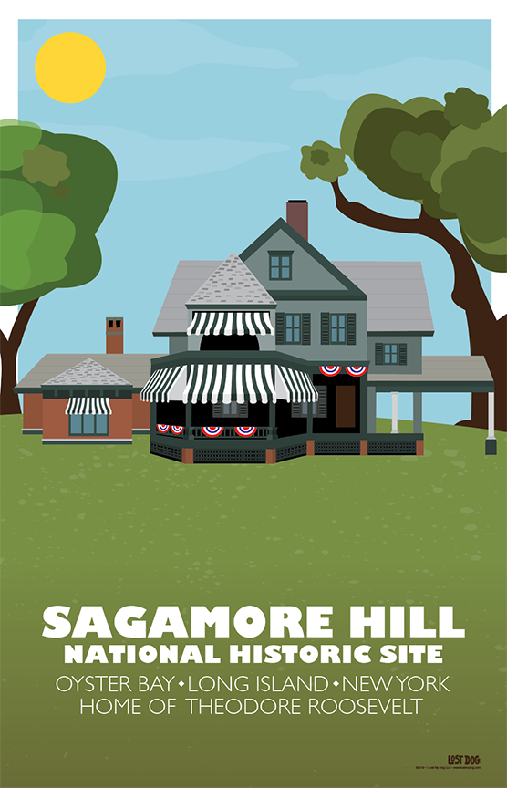 Sagamore Hill National Historic Site Illustration