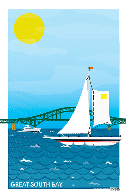 Sail Away Illustration