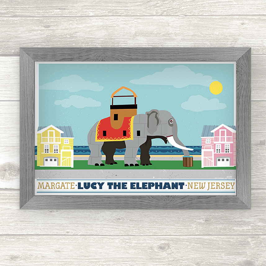 Lucy The Elephant: Margate, New Jersey