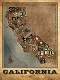 California Counties Type Map