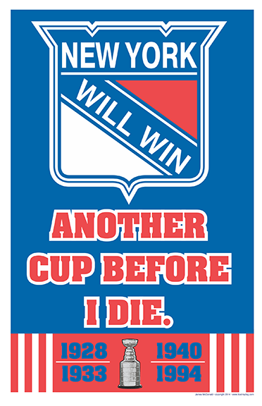 Rangers Will Win a Cup Before I Die