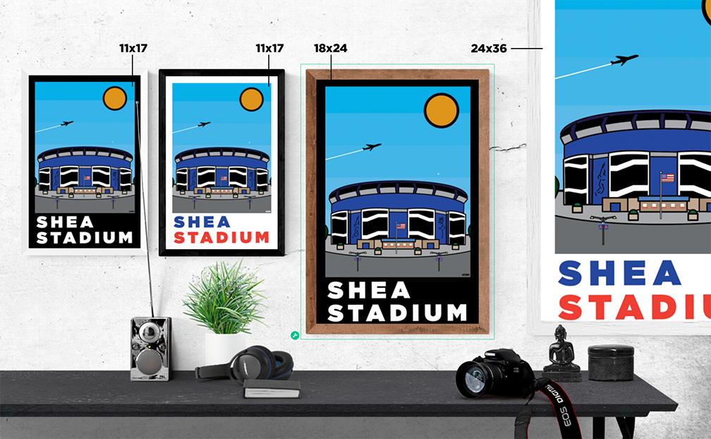 Shea Stadium: Thick Line Series