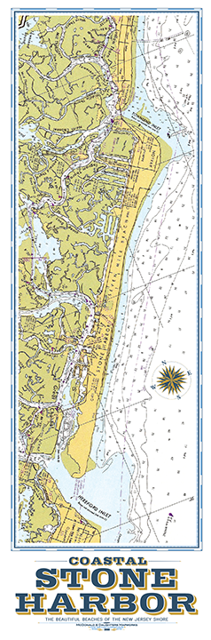 Stone Harbor Nautical Chart