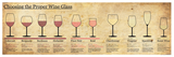 Wine Glass Pairing Chart