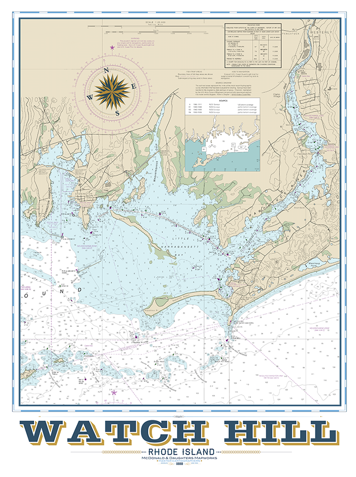 Watch Hill Nautical Chart