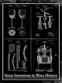 Great Inventions in Wine History-Patent Invention Art