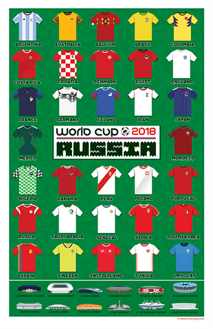2018 World Cup Poster