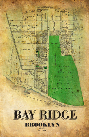 Bay Ridge Remixed Map