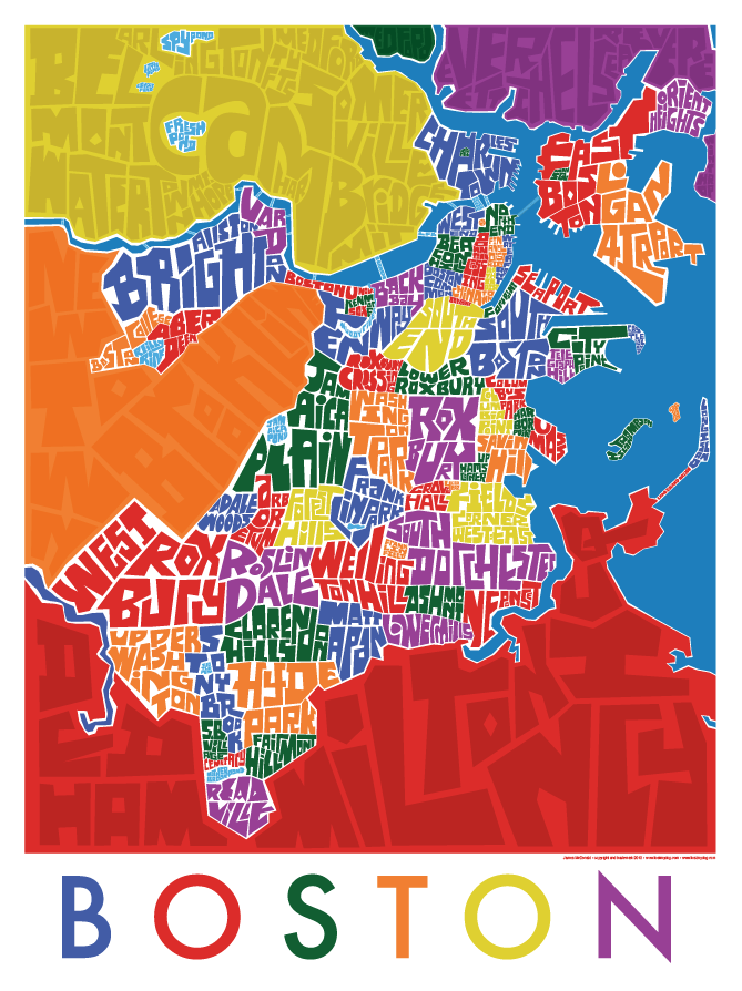 Boston Neighborhood Type Map
